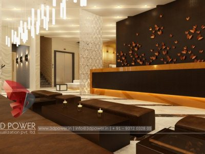 3D Design Rendering Interior