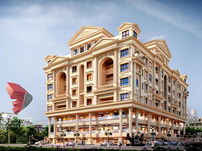 3d-exterior-render-architectural-comercial-residential-complex-day-view-panormaic