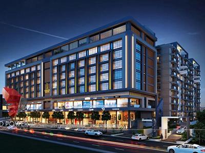 3d-walkthrough-visualization-3d-Architectural-animation-services-buildings-studio-apartment-night-view