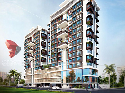 Highrise-apartments-3d-elevation-walkthrough-animation-services