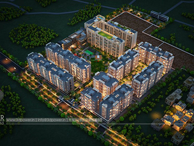 Top-view-township-beutiful-elevation-3d-design-apartment-virtual-walk-through
