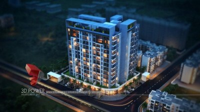 3d-walkthrough-company-architecture-services-buildings-exterior-designs-night-view-birds-eye-view