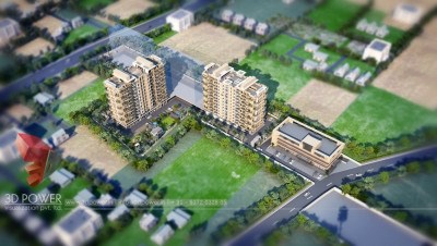 Top-view-townhip-big-project-3d-design-walkthrough-animation-services