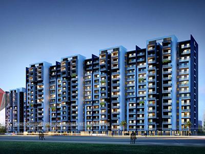 Aurangabad-Highrise-apartments-flats-3d-elevation