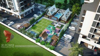 Aurangabad-Top-view-parking-apartments-real-estate-3d-flythrough-3d-model-visualization-architectural-visualization-3d-3d-walkthrough-company-company