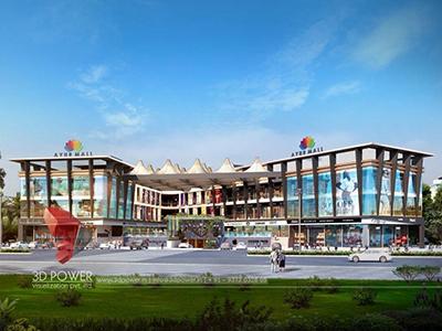 Aurangabad-3d-rendering-visualization-3d-visualization-service-shopping-mall-eye-level-view