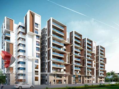 3d-architectural-rendering-companies-3d-rendering-service-apartment-builduings-eye-level-view-Aurangabad