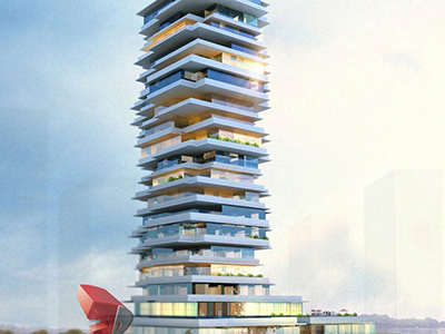 Bangalore-3d-Architectural-animation-services-3d-walkthrough-services-high-rise-apartment-day-view