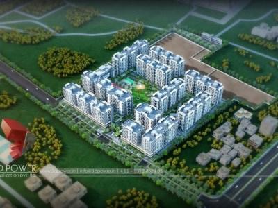 Bangalore-3d-rendering-service-provider-Architectural-rendering-service-provider-animation-company-birds-eye-view-apartments-smravati