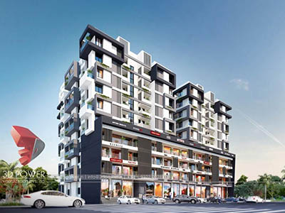3d-architectural-walkthrough-freelance-Bangalore-3d-animation-townhsip-apartments-birds-eye-view-day-view-exterior-designing