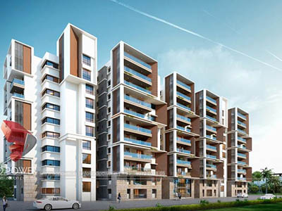 Bangalore-3d-architectural-drawings-services-virtual-walkthrough-freelance-high-rise-apartment-night-view
