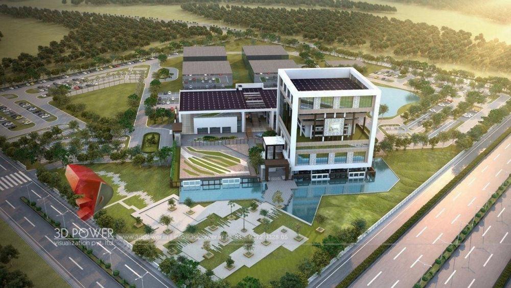Bangalore-virtual-walkthrough-freelance-3d-walkthrough-freelance-company-architecture-services-building-apartment-evening-view-eye-level-view