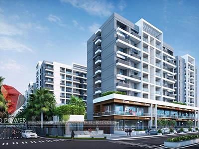 Bangalore-3d-Architectural-animation-services-virtual-walk-through-apartment-buildings-day-view