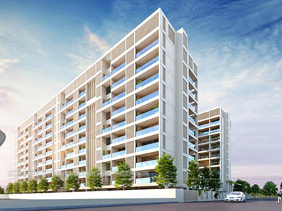 Hyderabad-Apartments-view-3d-architectural-renderingArchitectural-flythrugh-real-estate-3d-walkthrough-animation-company
