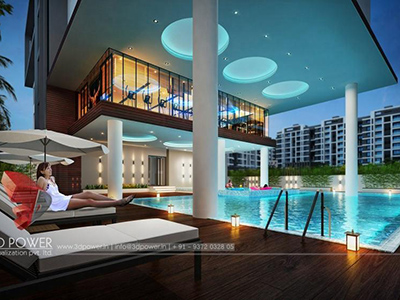 3d-Architectural-animation-services-virtual-walk-through-luxerious-apartment-night-view-Hyderabad