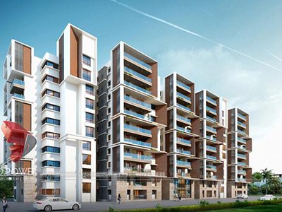 3d-architectural-rendering-companies-3d-rendering-service-apartment-builduings-eye-level-view-Hyderabad