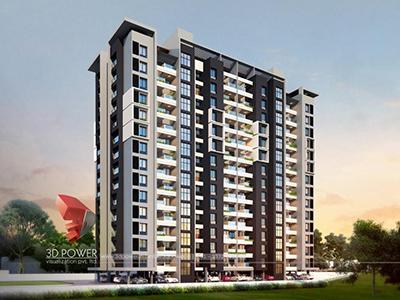 3d-real-estate-walkthrough-company-3d-model-architecture-evening-view-apartment-panoramic-virtual-walk-through-Hyderabad