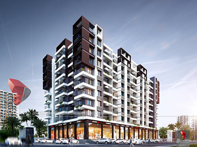 Hyderabad-Side-view-3d-architectural-rendering3d-real-estate-walkthrough-visualization-3d-Architectural-animation-services
