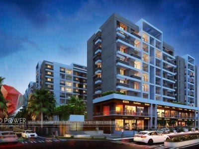 3d-walkthrough-company-visualization-comapany-services-services-Pune-3d-walkthrough-company-apartments-buildings-night-view