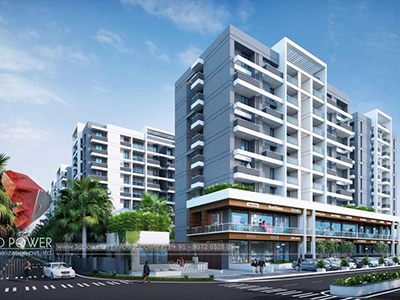hyderabad-3d-Architectural-visualization-comapany-services-virtual-flythrough-apartment-buildings-day-view