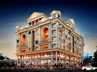 hyderabad-Commercial-cum-residential-apartments-3d-design-architectural-flythrough
