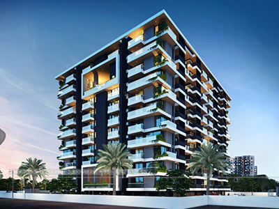 hyderabad-Front-view-beutiful-apartmentsArchitectural-flythrugh-real-estate-3d-3d-walkthrough-company-visualization-comapany