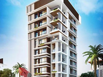 Hyderabad-3d-walkthrough-freelance-service-exterior-3d-walkthrough-freelance-building-eye-level-view-day-view
