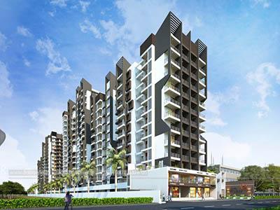 Hyderabad-Highrise-apartments-shopping-complex-apartment-virtual-walkthrough-freelance