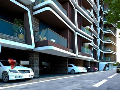 Hyderabad-architectural-walkthrough-freelance-architectural-walkthrough-freelance-services-apartment-basement-parking