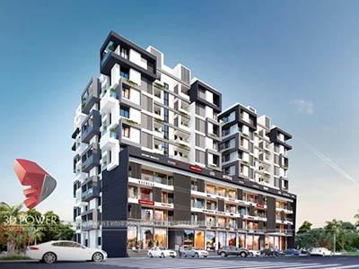 3d-architectural-walkthrough-freelance-Hyderabad-3d-animation-townhsip-apartments-birds-eye-view-day-view-exterior-designing