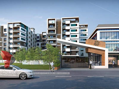 Hyderabad-Highrise-apartments-3d-bird-eye-view3d-real-estate-Project-walkthrough-freelance-Architectural-3dwalkthrough-freelance-company