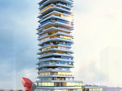 Hyderabad-3d-Architectural-animation-services-3d-flythrough-services-high-rise-apartment-day-view