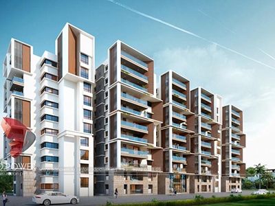 Nizamabad-3d-architectural-rendering-companies-3d-rendering-service-apartment-builduings-eye-level-view