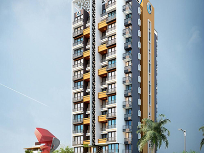 Pune-3d-real-estate-rendering-company-3d-rendering-firm-3d-Architectural-animation-services-high-rise-apartment