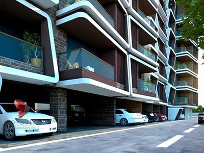 Pune-architectural-flythrough-architectural-flythrough-services-architectural-flythrough-s-apartment-basement-parking