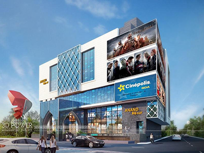 Pune-3d-architectural-animation-services-architectural-animation-3d-walkthrough-freelance-studio-Shopping-mall