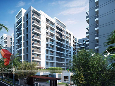 Architectural-high-rise-apartments-3d-Walkthrough-animation-company-Rewa-flythrough