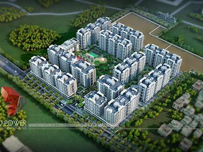 rendering-companies-3d-architectural-visualization-townships-buildings-township-day-view-bird-eye-view-Vijayawada