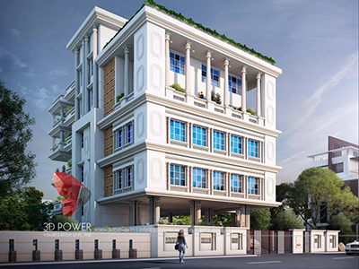 Agra-bungalow-day-view-3d-architectural-outsourcing-company-Best-3d-exterior