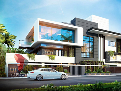3d-exterior-rendering-walkthrough-Akola-rendering-services-bungalow-eye-level-view