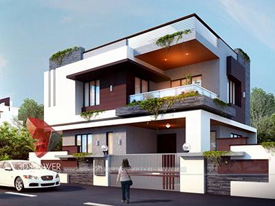 3d-floor-plan-rendering-Aurangabad-bungalow-day-view-3d-home-design-rendering