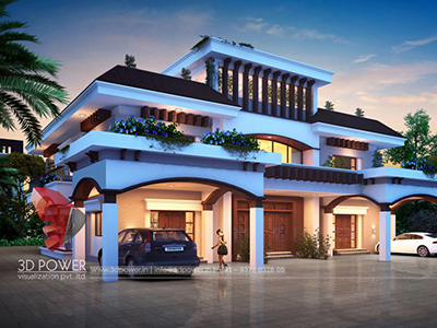 Aurangabad-3d-architectural-outsourcing-company-aurangabad-bungalow-night-view-walkthrough-rendering-services-bungalow