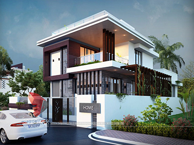 Aurangabad-bungalow-night-view-architectural-3d-modeling-services-aurangabad