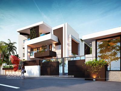 Aurangabad-lavish-and-luxurious-bungalow-3d-elevation-bungalow-rendering