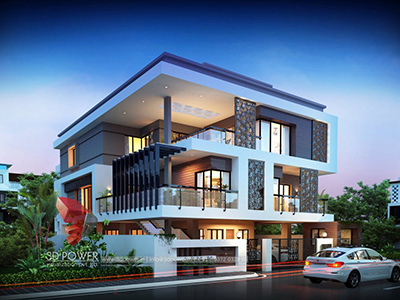 animation-company-Bhubaneswar-3d-exterior-rendering-services-bungalow-day-view