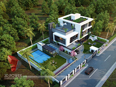 bird-eye-view-elevation-design-for-home-3d-architectural-visualization-3d-rendering