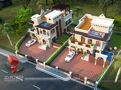 bird-eye-view-home-front-design-3d-view-bungalow-front-elevation-best-bungalow-designs