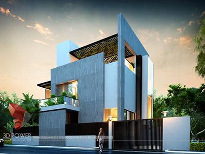 bungalow-design-evening-view-3d-model-latest-bungalow-desingn