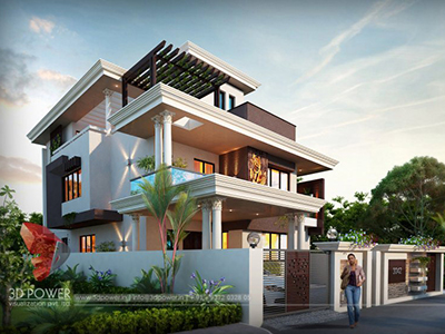 front-elevation-3d-bungalow-pictures-in-india-3d-architectural-visualization