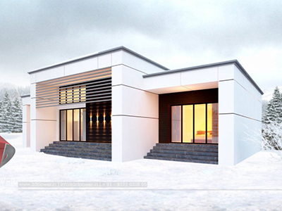 front-view-3d-design-of-house-exterior-bungalow designer-architectural animation company